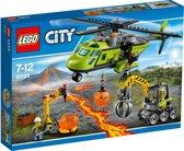 LEGO City Vulkaan Bevoorradingshelikopter - 60123