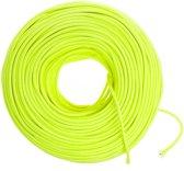 Neon geel strijkijzersnoer 10 meter | Maak je eigen unieke lamp!