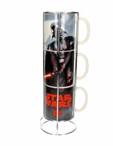 Star Wars - 3 Mokken Set - Darth Vader en Stormtrooper - Keramiek