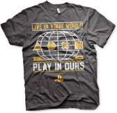 Merchandising PLAYSTATION - T-Shirt Your World (M)