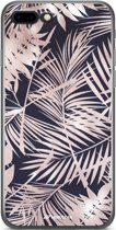 Mobigear Design TPU Hoesje Style Palm Leaves iPhone 7 Plus / 8 Plus