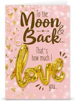 "Love ballon ""Moon & Back"""