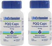 PQQ Caps With PQQ, 10 mg, 30 Vegetarian Capsules,  2-pack