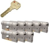 Cilinderslot - M&C Condor SKG*** 8 cilinders met 8 sleutels
