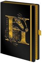 Harry Potter - Hufflepuff Foil A5 Premium Notebook