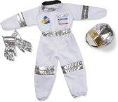 Melissa & Doug Astronaut verkleedset (5-delig) - Jumpsuit, helm, handschoenen, naamplaatje