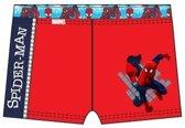 Spiderman zwembroek, Spider-Man zwemboxer maat 104 rood