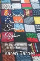 Ron Weasley Crochet Sampler Afghan