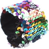Free And Easy Paillettenarmband Little Miss Multicolor 21 X 4 Cm