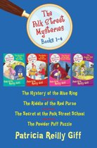 The Polk Street Mysteries, Books 1-4: The Mystery of the Blue Ring, The Riddle of the Red Purse, The Secret at the Polk Street School, and The Powder Puff Puzzle