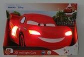 Philips Cars - Wandlamp - 2 Lichtpunten - Rood - Lightning Mcqueen Light