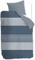 Rivièra Maison Hilton Head - Dekbedovertrek - Eenpersoons - 140x200/220 cm - Blauw