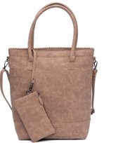 Zebra Trends Natural Bag Kartel Rits camel