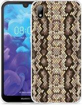 Huawei y5 2019 Hoesje Snakeskin Pattern