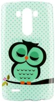 LG Optimus G3 - hoes, cover, case - TPU - Owl