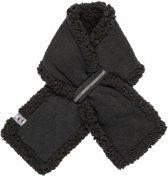 Lodger Muffler babysjaal fleece -  zwart