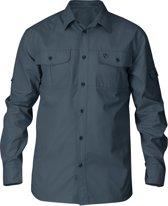 Fjallraven Singi Trekking Shirt LS - heren - blouse lange mouwen - maat XXL - dusk