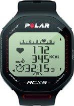 Polar RCX 5 - Hardloophorloge - Zwart