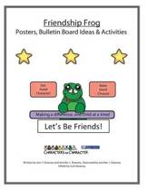 Friendship Frog Posters and Bulletin Board Ideas Activites