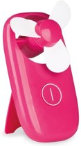 Roze hand ventilator