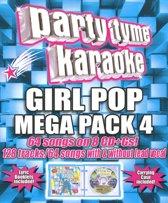 Party Tyme Karaoke: Girl Pop Mega Pack, Vol. 4