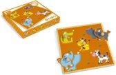 Scratch Preschool Knoppuzzel - Afrika