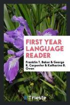 First Year Language Reader