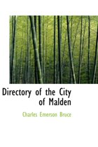 Directory of the City of Malden