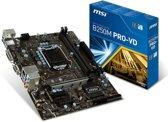 MSI B250M PRO-VD LGA 1151 (Socket H4) Intel® B250 Micro ATX