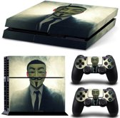 Anonymous - PS4 Console Skins PlayStation Stickers