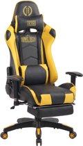 Clp Turbo XFM - Bureaustoel - Kunstleer - zwart/geel