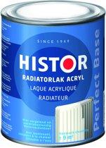 Histor Perfect Base Radiatorlak Acryl 0,75 liter - Zuiver Wit (Ral 9010)