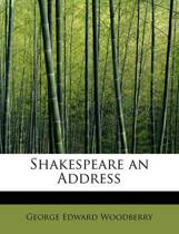 Shakespeare an Address