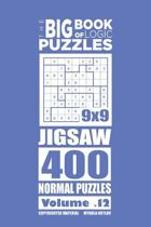 The Big Book of Logic Puzzles - Jigsaw 400 Normal (Volume 12)