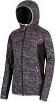 Regatta Willowbrook V Fleece Jas Dames  Outdoorjas - Maat M  - Vrouwen - zwart/grijs/roze