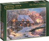 The Poet's Cottage 1000 stukjes - Legpuzzel