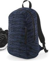 Senvi Design Backpack - Rugzak Kleur Blauw-Zwart (ruimte voor de Laptop)