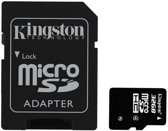 Kingston MicroSDHC 32GB - Class 4 + SD Adapter