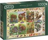 Falcon Seasonal Wildlife 1000p