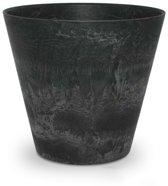 ARTSTONE Plantenbak CLAIRE - antraciet grijze steen-optiek - 43x43x39 cm