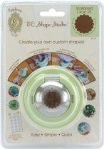 Epiphany Crafts - Shape Studio - Custom Shape Making Tool - Scalloped Circle 25.