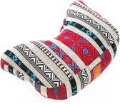 #DoYourYoga® - Yoga hoofdkussen »Karim« - gevuld met organische spelt (kbA) - afwasbare hoes / hoog zitcomfort - ideaal als meditatiekussen - STYLE 6
