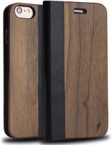 The Guardian| Walnoten hout Case iPhone 7 / iPhone 8