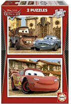 Educa Cars in zicht - 2 x 20 stukjes