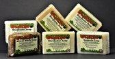 30x Natuurlijke Zepen van 100gr - Voordeelpakket met Zwarte Zeep, Aloë Vera, Havermout Zeep, Neemolie Zeep, Tea Tree Olie Zeep, Eucalyptus Olie Zeep en Honing, Havermout Zeep