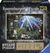 Ravensburger puzzel escape 4 Submarine - 759 stukjes