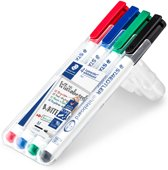 Lumocolor whiteboard pen - Box 4 st