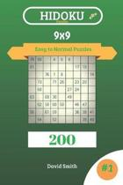 Hidoku Puzzles - 200 Easy to Normal Puzzles 9x9 Vol.1