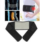 Steunband tegen rugpijn zelf opwarming steun en warmte in rug. Bloedsomloop verbeteraar door magneten in steunband