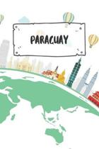 Paraguay: Ruled Travel Diary Notebook or Journey Journal - Lined Trip Pocketbook for Men and Women with Lines